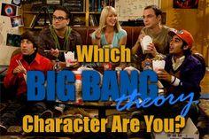 The Big Bang Theory - Personality Quiz