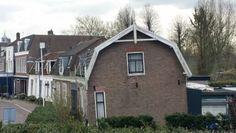 Funderingsproblemen,  nee hoor dit huis heeft geen funderingsproblemen want het staat al jaren zo. WAT DENKT UZELF?