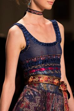 Etro at Milan Fashion Week Spring 2016 (Details)