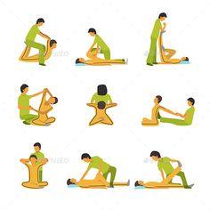 Thai Yoga Massage, Massage Tips, Massage Benefits, Spa Massage, Partner Yoga, Spa Therapy, Massage Therapy, Massage Pressure Points, Shiatsu