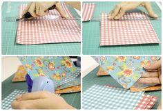 Do It Yourself - DIY - Cone de Pipoca para Festa Junina - Tuty - Arte & Mimos www.tuty.com.br