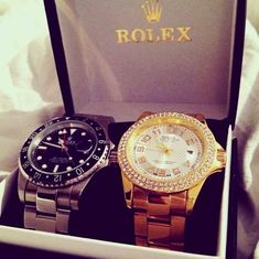 rolex, luxury, and watch image His And Hers Rolex, Luxury Watches, Rolex Watches, Cool Watches, Watches For Men, Dream Watches, Swagg, Gentleman, Fashion Accessories