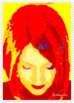 Day 18 creation: Yellow @createstuff #30DoC