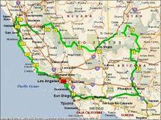 Afbeeldingsresultaat voor route west amerika