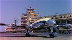 Este plano Rights Managed HD sobre Lockheed Constellation / Avión / 1955 esta preparado para ofrecer licencia instantanea y descarga a la medida.