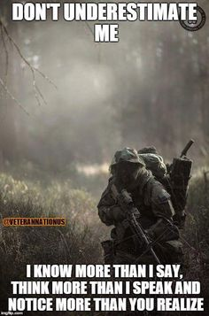 Airsoft hub is a social network that connects people with a passion for airsoft. Talk about the latest airsoft guns, tactical gear or simply share with others on this network Military Quotes, Military Humor, Military Life, Military Art, Military Veterans, Airsoft, Military Special Forces, Warrior Quotes, Special Ops