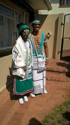 African Beauty, African Fashion, Traditional Wedding, Traditional Outfits, Xhosa Attire, Zulu Warrior, Fashion Clothes, Fashion Outfits, African Culture