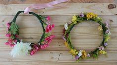 Faça Você Mesmo Coroa de Flores Frescas e Artificiais   DIY Flower Crown with Fresh and Artificial Flowers blogdamariafernanda.com