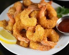 Breaded Shrimp Recipes With Bread Crumbs. Cracker Jack Popcorn Shrimp 110 180 Ct King And Prince . Classic Southern Fried Shrimp FaveSouthernRecipes Com. Fried Shrimp Recipes, Calamari Recipes, Shrimp Dishes, Fish Dishes, Seafood Recipes, New Recipes, Bread Recipes, Cooking Recipes, Purple Cauliflower Recipe