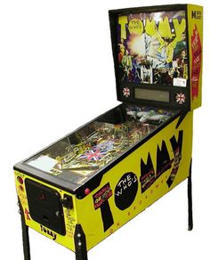 tommy pinball machine   This was another Data East machine I think from memory,def one of my faves look wise and was fun to play. Had this and a GnR set up opposite each other and they looked stunning lit up