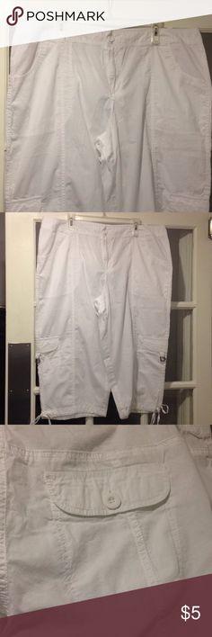 Cato 22W Capris pants good condition Size 22W Cato Capris good condition Cato Pants Capris
