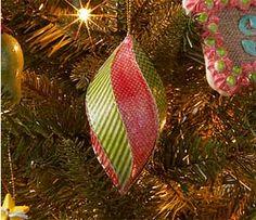 Classic Paper Mache Ornament