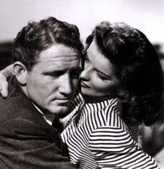 Tracy & Hepburn~great love....