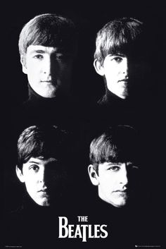 Beatles With the Beatles - Official Poster. Official Merchandise. Size: 61cm x 91.5cm. FREE SHIPPING