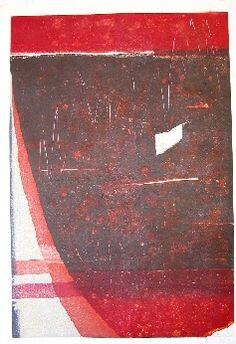 "Hideo Hagiwara, Fault, 1993, ed. of 50, 26 3/4"" x 38 1/2"""