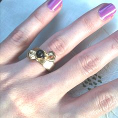 Sweet little bow ring. Vintage Violet, Fayetteville, AR.