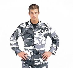 Ultra Force City Camo Bdu Shirt - Online Army Navy Store - Military Clothing, Gear and Military Camouflage, Navy Military, Army & Navy, Military Surplus, Military Gear, Army Navy Store, City, Hunting, Mens Tops