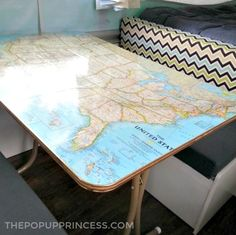 Rod & Carrie's Pop Up Camper Makeover - The Pop Up Princess