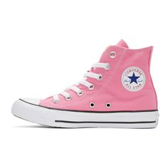 79ac1c2eeabb Converse - Pink Classic Chuck Taylor All Star OX High-Top Sneakers Pink  Sneakers