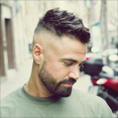 Sexy Hairstyles For Men Update) Hot Hairstyles For Men - High Skin Fade with Short Messy TopHot Hairstyles For Men - High Skin Fade with Short Messy Top Trendy Mens Haircuts, Latest Haircuts, Best Short Haircuts, Popular Haircuts, Men's Haircuts, Modern Haircuts, Summer Haircuts, Latest Hairstyles, High Skin Fade