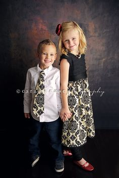 Brother and Sister Matching Outfits  Girl's by mellonmonkeys, love this!