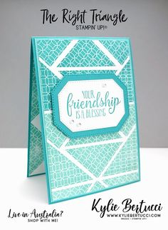 The Right Triangle with So Sentimental - Kylie Bertucci Vintage Birthday Cards, Birthday Cards For Friends, Happy Birthday Cards, Birthday Greetings Quotes, Birthday Quotes, Birthday Images, Triangles, Hexagon Cards, Right Triangle