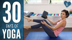 Day 6 - SIX PACK ABS - 30 Days of Yoga. I Love Adriene! So much fun and a great workout. Check out the full 30 day challenge!