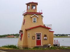 Cocagne lighthouse, New Brunswick, Canada