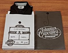 awesome packaging, as usual, from @Johnny Cupcakes.  #johnnycupcakes #packagedesign