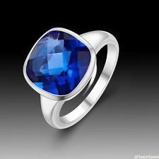 Unique Jewelry - New Sweet Friendship Jewelry Sapphire Quartz S80 Silver Ring size 9