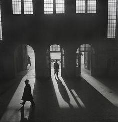 Roman Vishniac's Interior Of The Anhalter Bahnhof Railway Terminus Near Potsdamer Platz, Berlin