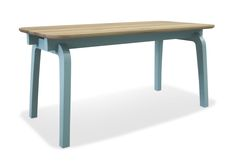 legs collection | TOM FRENCKEN | table with French oak top.