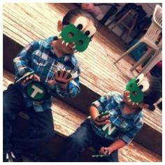 DIY crocodile costume