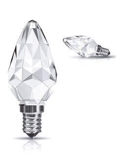 #Crystal LED #Candle #LED #Lamp