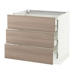 "Base cabinets, frame height 31 1/2"" - SEKTION system - IKEA"