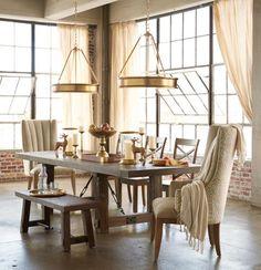 Refined rustic dinin