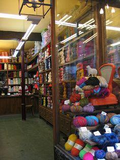 Lanas Sixto by ShannonC, via Flickr yarns ganchillo gancho crochet