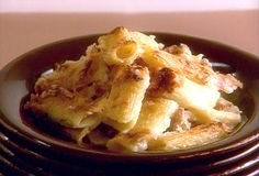 Baked Rigatoni with Bechamel Sauce...made this tonight for our small group and it was a huge hit