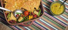 mexicaanse tortillaschotel