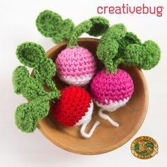 """Crochet Along with Creativebug & Twinkie Chan - sign up for the class and get 1 month of Creativebug FREE with the code """"LION""""!"""