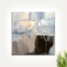 Image of The Storm 12x12 Winter Collection 2016 contemporary abstract art - Instagram @eva_alessandria
