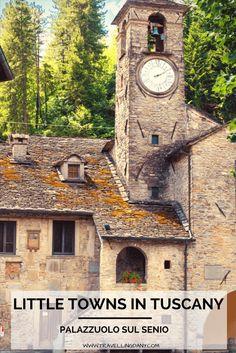 Small towns in Italy Palazzuolo sul Senio