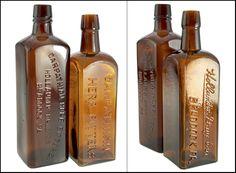"""CARPATHIAN - HERB BITTERS - HOLLAINDER DRUG CO. - BRADDOCK. PA"""", and a """"CARPATHIAN HERB BITTERS - HOLLANDER DRUG CO.  - .jpg"""