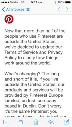 Disgusted to see #Pinterest following Apple Google et al into the tax-dodging Irish haven. Poor show.