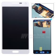 100% Original test good For Samsung galaxy A5 A500f lcd display touch screen digitizer with home button sticker freeshipping