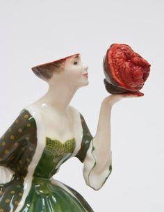 Porcelana victoriana gore de Jessica Harrison 1.