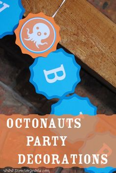 Octonauts Birthday Party Decoration Ideas | Under the Sea Decor at directorjewels.com