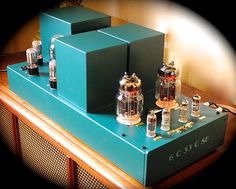 Mono and Stereo High-End Audio Magazine: Tube Guru 6C33C Triode SE amplifier audiophile