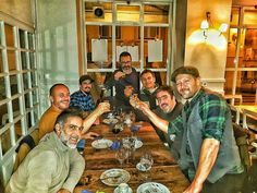About last night. Amigos do traço. Obrigado pelo jantar @freicontente estava tudo 5 estrelas! #jantarnatal  #tbt #fun #friends #amigos #jantar #natal #lisboa #freicontente