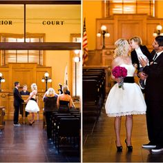 Courthouse Wedding <3